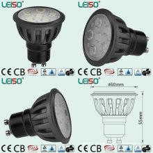 Refletor LED GU10 com o mesmo tamanho de luz de halogênio