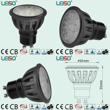 Projecteur de GU10 LED avec la même taille de lumière d'halogène