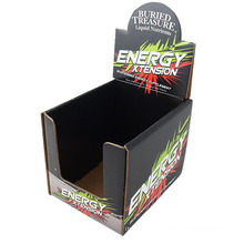 Recyclable Cardboard Retail Counter Displays for Halls