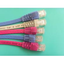 Cabo Flat do Patch Cord Cat6 UTP