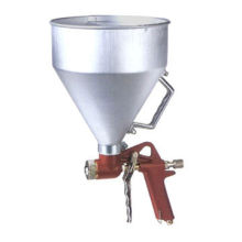 5000mL Air Hopper Gun with Aluminum Hopper, 3 Nozzles, 50psi Air Pressure