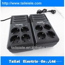 Regulador de voltaje automático 220v / Euro socket Protector contra sobretensiones AVR