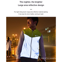 High-Visibility Running and Cycling Safety Clothing Reflective Clothing