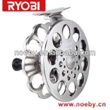 NOEBY bobina de jarrete Hechi pesca carretel chaveiro