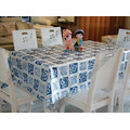 Transparent Fancy Table Cloth Cover
