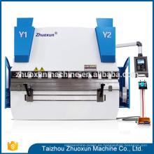 Prensa de freno de alta calidad para la dobladora de la venta en China Dobladora de ángulo de la barra de acero de la mano