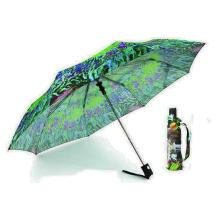 Impressão de papel 3 seções guarda-chuvas automáticos (YS-3FA22083561R)