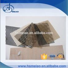 New Design Plain Weaving PTFE Coated Fiberglass mesh Fabric