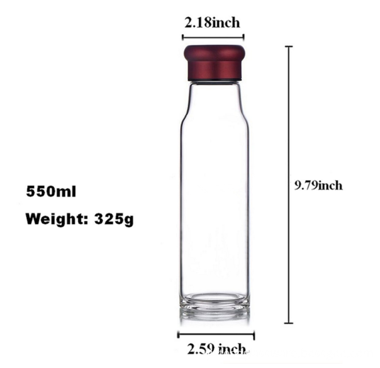 18oz Stainless Steel Filter