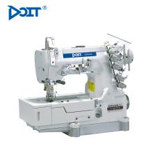 DT 500-03FQ 3 Funktionen allgemeines Normalnähen, Tape-Bindung, Deckungsnaht in 1 Industrie-Flachbett-Interlock-Maschine