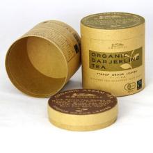 Craft Tube Cardboard Cosmetic Kraft joyería acanalada