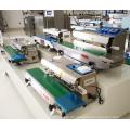 Beutel-Band Folie Verpackung Maschine kontinuierliche Sealer für Big Size Dimension Taschen mit Adjusable heben Heißsiegeln Räder
