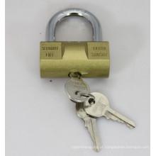 Imite o cadeado do ferro do martelo de bronze com chaves lisas (HP)