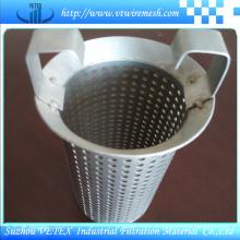 Cartucho de filtro usado no equipamento de fábrica