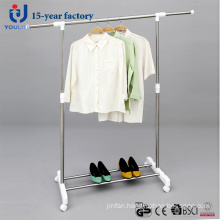 Ylt-0308 Stainless Steel Single Rod Telescopic Clothes Hanger