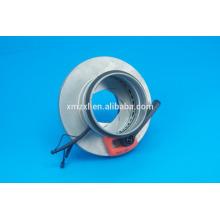 Amortecedor de controle de íris para conexão do duto