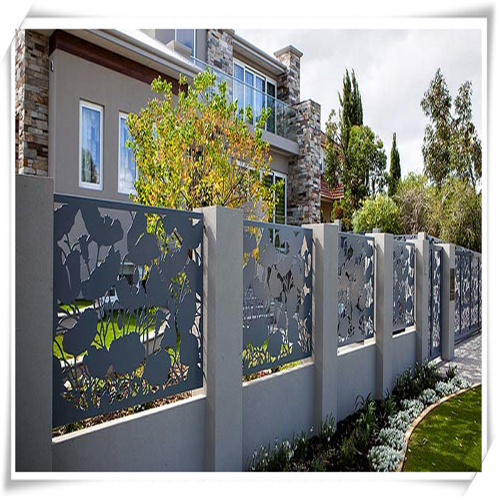 aluminium decorative fences