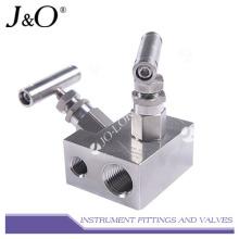 Manifolds de válvula de instrumento de alta integridad de acero inoxidable