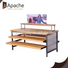 China Professional Supplier for Beer Display Shelf 100% reseller retail portable book display stand supply to Fiji Exporter