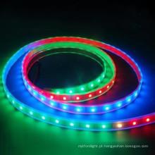 RGB com luz de tira LED controladora