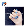Кошачий глаз ногтей обертывание клей стикер польский блестящий искусства наклейки украшения