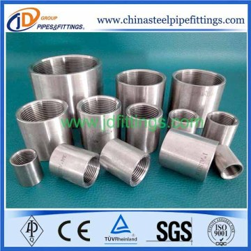Pipe Fitting And Thread Stainless Steel Coupling