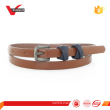 fashion fancy pu belt for lady