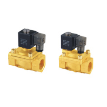 PU Series Pneumatic Brass Guide Solenoid Valves