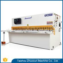 Máquina de corte hidráulica de diseño atractivo Máquina de corte manual de chapa de hierro y cizalla guillotina metálica