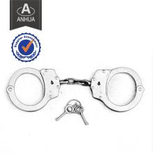 Policia profesional de alta cantidad de acero al carbono esposas