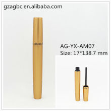 Elegant&Empty Aluminum Round Mascara Tube AG-YX-AM07, AGPM Cosmetic Packaging , Custom Colors/Logo