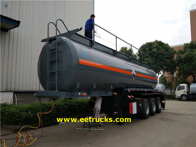 Sulfuric Acid Transport Trailer