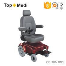 Topmedi High Back Handicapped Leistungsstarke Vierrad Elektroroller