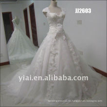 Späteste erstaunlich neue echte Ankunftsqualitätskristallsteine ball stylerystal verschönerte Hochzeitskleider JJ2603
