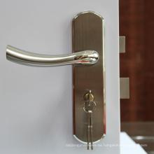 Placa frontal de alta calidad para puerta activa, cilindro y manijas