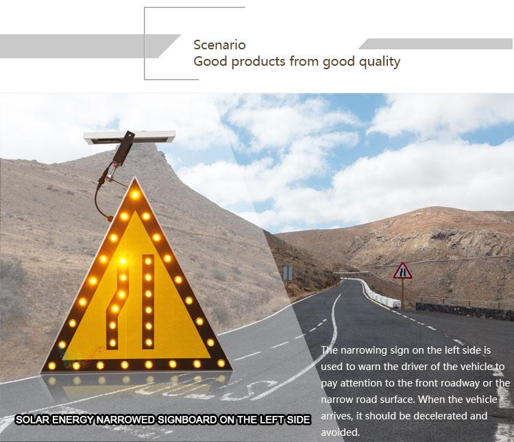 Aluminum Solar Traffic Sign Board_01