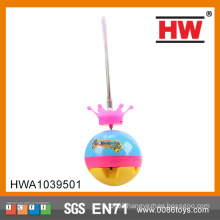 New Design For 12PCS/ BOX Plastic Spinning Top With Light And Music Flash Toy