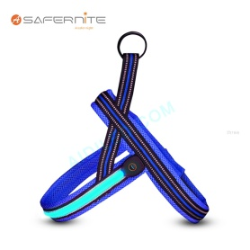 Nylon Led Light Up Harness Para Cachorro