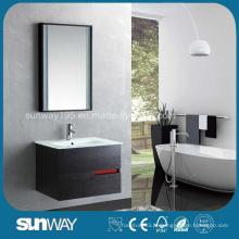 Gabinete de banheiro montado na parede de madeira quente da Veeder de madeira (SW-WV1203)