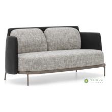 Sofa de tissu de cadre en métal avec le double siège
