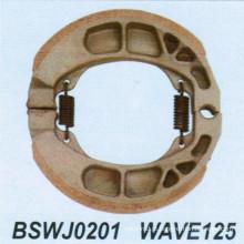 Sapato de freio para motocicleta para wave125