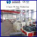 Kunststoff-Rohr-Extrusion Maschine / Kunststoff Rohr Produktionsmaschine