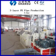 Extrusion de tuyaux en plastique Machine de Production de Pipe de Machine / plastique