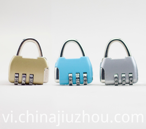 Luggage Zinc Alloy Combination Padlock