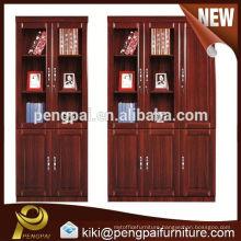 modern glass wooden/MDF/veneer/paper/ bookcase/bookshelf/