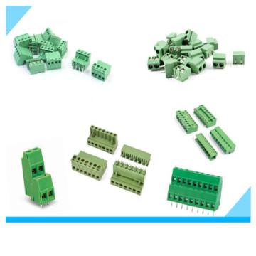 Fabrik Elecronic Plug in Schraube 5,0 Pitch Terminal Block für PCB Board