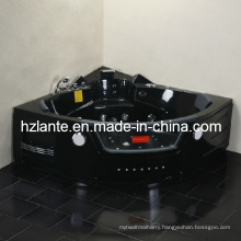 Luxury Massage Bathtub with Black Color (TLP-632 Black)