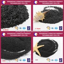 Exportação de preço de fábrica de corindo preto competitivo de alta qualidade