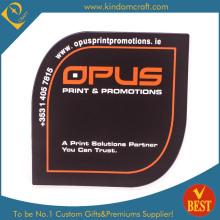 Fornecimento personalizado impresso copo de PVC Copa Coaster