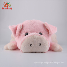 ODM 54cm sleeping pig toy stuffed animal plush toy for kids